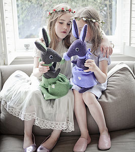 Personalised Soft Toy Bunny - soft toys & dolls