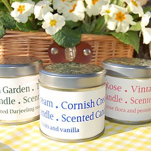 St Eval Heritage Tin Scented Candle