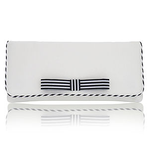Darcy Stripy Clutch