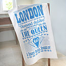 Queen's Diamond Jubilee Tea Towel