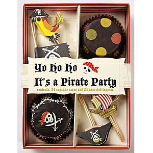 Pirates Cupcake Decorating Kit - kitchen accessories