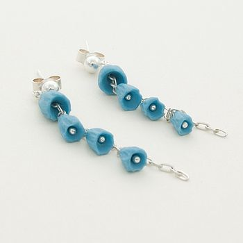 Feel Porcelain Dangle Earrings