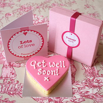 Get Well Cake Card