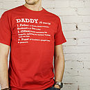 Adult Personalised Definition T Shirt