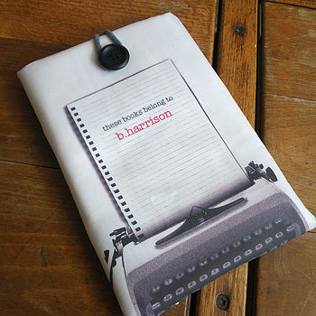 Personalised Typewriter Cover For Kindle