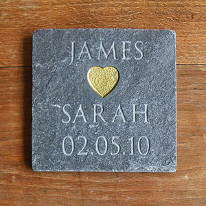 Personalised Love Slate - anniversary gifts