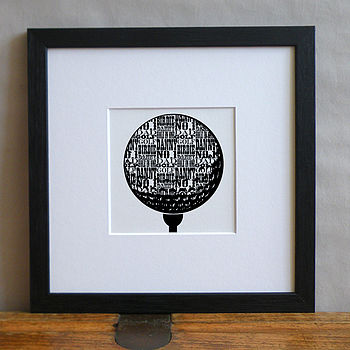 Personalised Favourite Sport Print