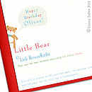 Personalised boy birthday card
