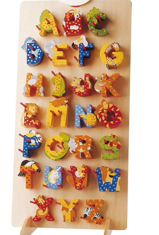 childrens wooden decorative door letters