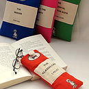 Personalised Classic Book Glasses Case