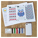 IPhone Cover Cross Stitch Kit