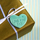 'Love You Dad' Magnet