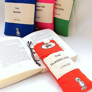 Personalised Classic Book Glasses Case - bags & purses