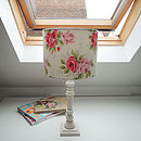 Handmade Table Lampshade In Cath Kidston