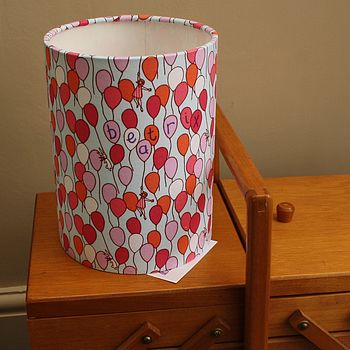 Balloons Personalised Lampshade