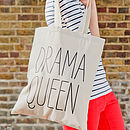 'Drama Queen' Tote Bag