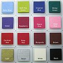 Ink Pad Colours (Optional)