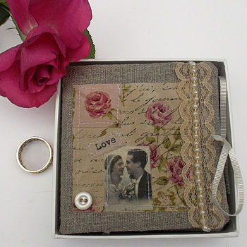 Vintage Style Wedding Ring Holder