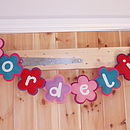 Fabric Name Decoration