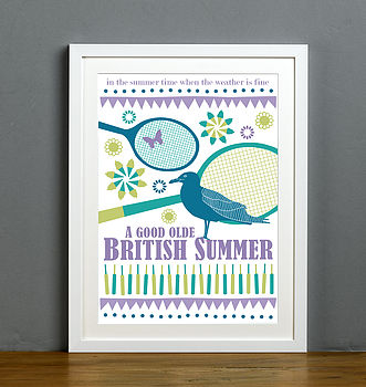 British Summertime Print