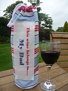 Personalised Wine Bag