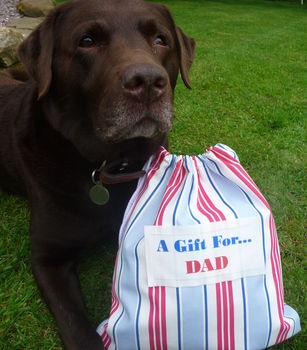 Personalised Fathers Day Gift Bag