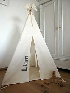 Personalised Indoor Play Teepee Midi - tents, dens & wigwams