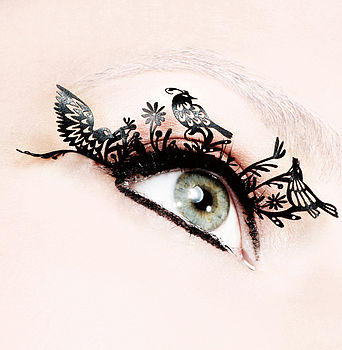 Bird Paper Eyelashes