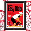 Personalised Cycling Print 'The Easy Rider'