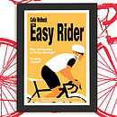 Personalised Cycling Print: 'The Easy Rider'