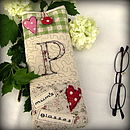 Green Theme - Personalised Glasses Case