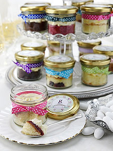 Six Cupcakes In Jars