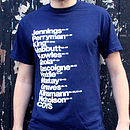 Best Tottenham Football Players T Shirt
