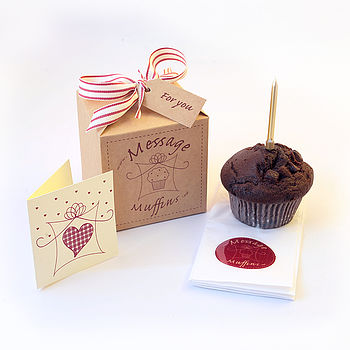 Fathers Day Gift Boxed Muffin