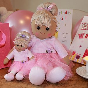 Mini Rag Doll - soft toys & dolls