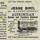 Bespoke News Of Your Home's History Print - Jesse Bird advert detail