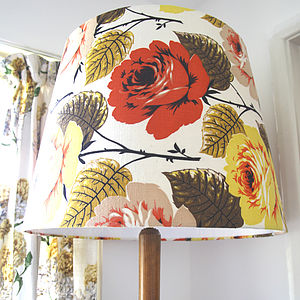 Polly Extra Large Tapered Lampshade - lighting