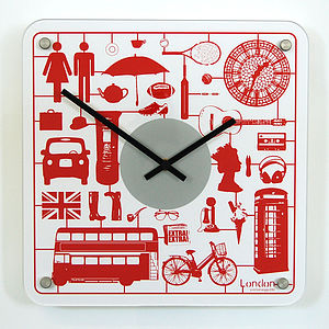 Interchangeable London Airfix Wall Clock - clocks