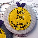 Personalised Best Dad Bottle Opener Keyring