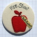 Red Plain - Teacher Personalised Gift