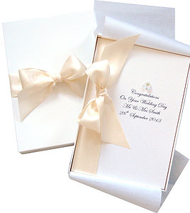 Bedazzled Large Boxed Wedding Card - shop by category