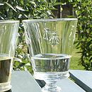French Bee Glassware
