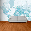 Personalised Map Wallpaper