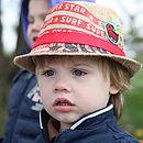 Red Fedora Sun hat