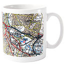 Present Day Edition Map Mug