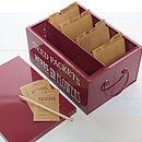 Seed Packet Tin Organiser