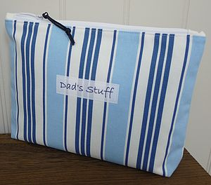 Personalised Men's Washbag - for him