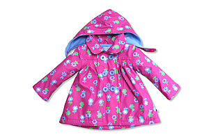 Children's Raincoat In Petal Design - children's clothing