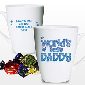 Personalised 'World's Best…' Father's Day Mug - crockery & chinaware
