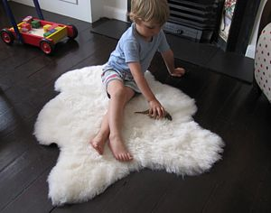 Baby Care Sheepskin Fleece - practical baby gifts